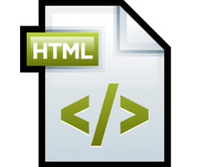فایل HTML