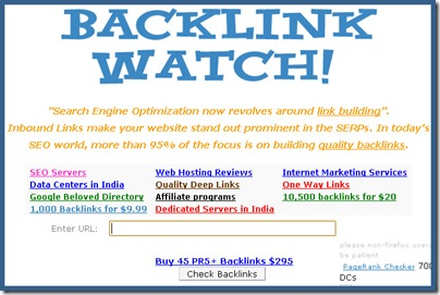 صفحه اصلی backlinkwatch