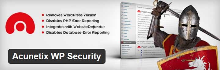 افزونه Acunetix WP Security